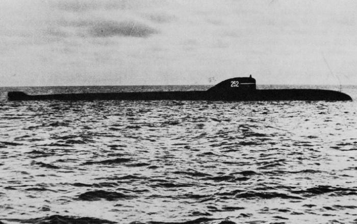 Атомная подводная лодка К-8 / Фото: theleansubmariner.com