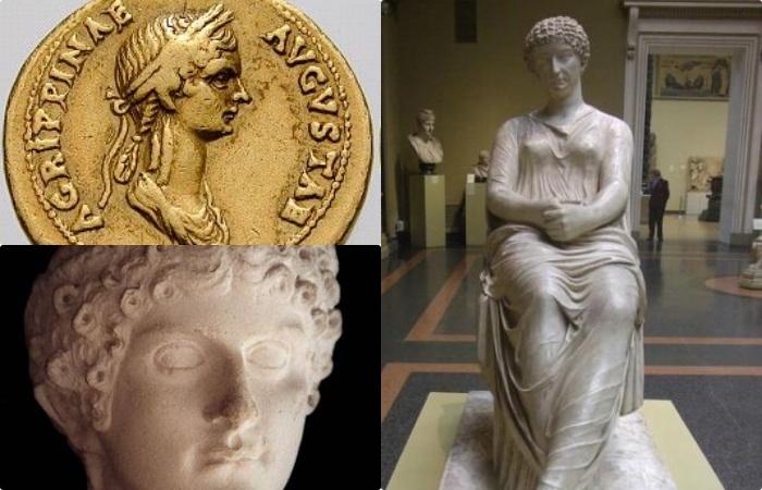 Агрипина не только состояла в кровосмесительной связи со своим братом Калигулой, но и после брака регулярно участвовала в оргиях