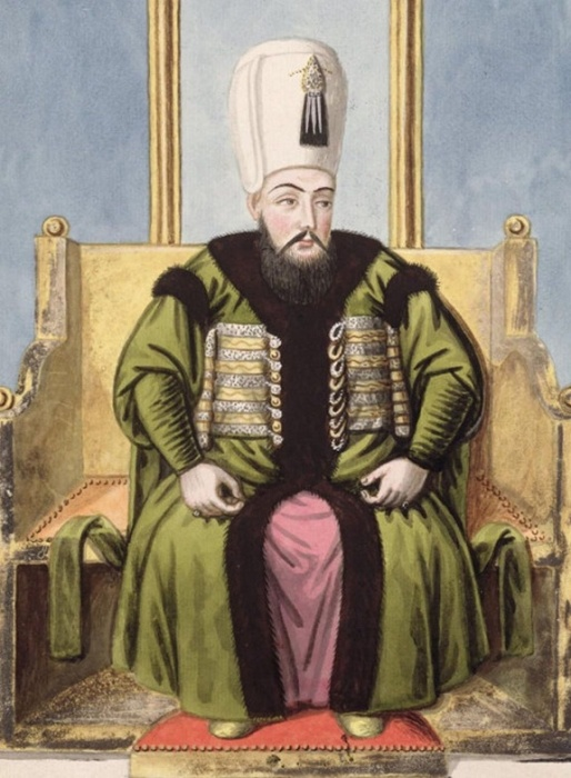 Султан Ахмед I, рисунок Джона Янга, 1798 год / Фото: wikiwand.com
