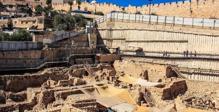 Панорама раскопок в Иерусалиме: Источник: ja-tora.com