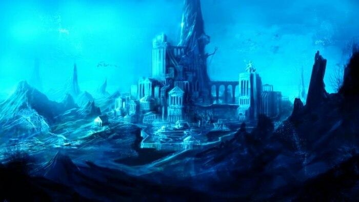 Атлантида погибла из-за масштабного потопа, который накрыл океанические цивилизации. / Фото:pix.playground.ru