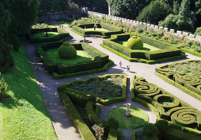 Сад Чилленгема воссоздали по старым проектам / Фото: wikimapia.org