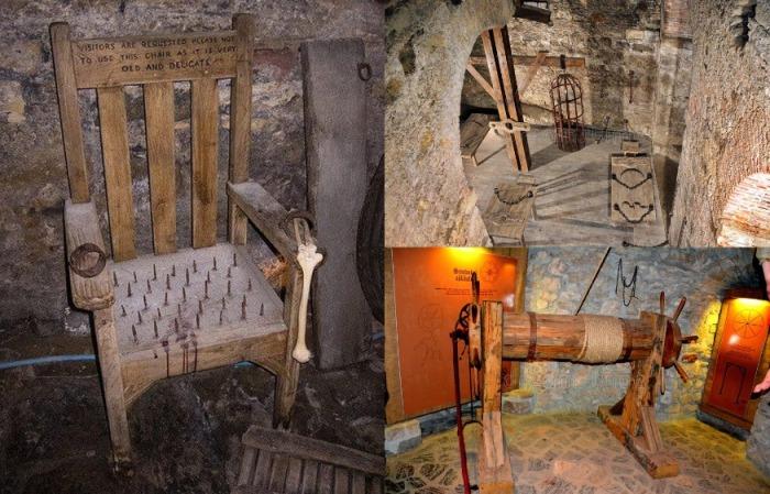 Пыточная в замке была оснащена по последнему слову техники и никогда не пустовала