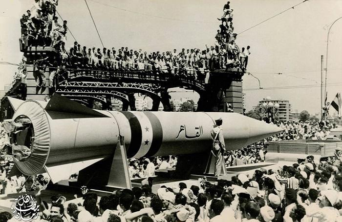 Египетская ракета «Аль-Кахир» была копией немецкой FAU / Фото: rattibha.com