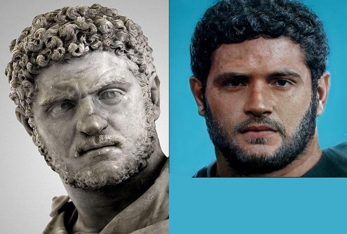 Римский император Каракалла. Компьютерная реконструкция / Фото: twitter.com