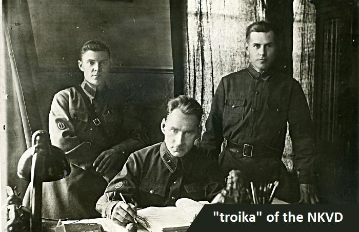 «Тройка» НКВД / Фото: twitter.com