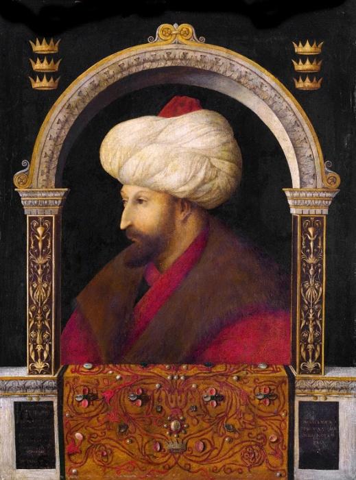 Султан Мехмед II Завоеватель. Средневековая гравюра Джентиле Беллини / Фото: sciencedirect.com