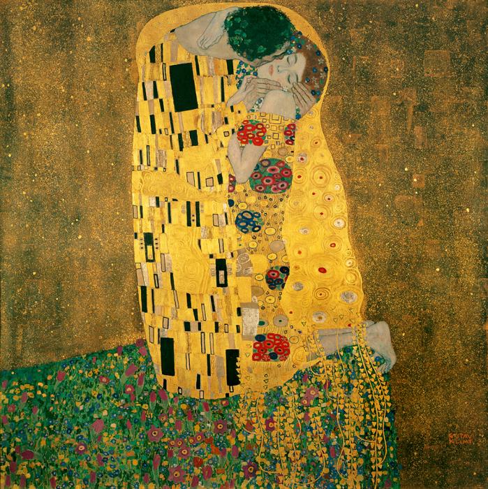 Густав Климт «Поцелуй» / Фото: https://ru.m.wikipedia.org