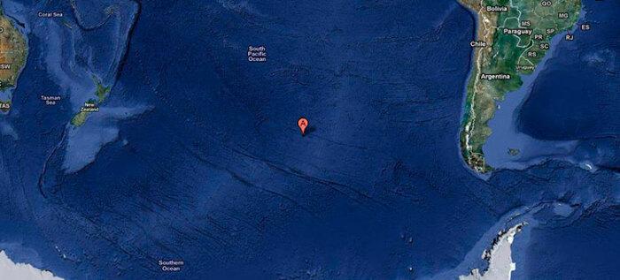 Точка Немо расположена в Тихом океане / Фото: ruyachts.com