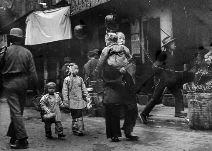 Типичный «чайнатаун» начала XX  века / Фото: hoodline.com