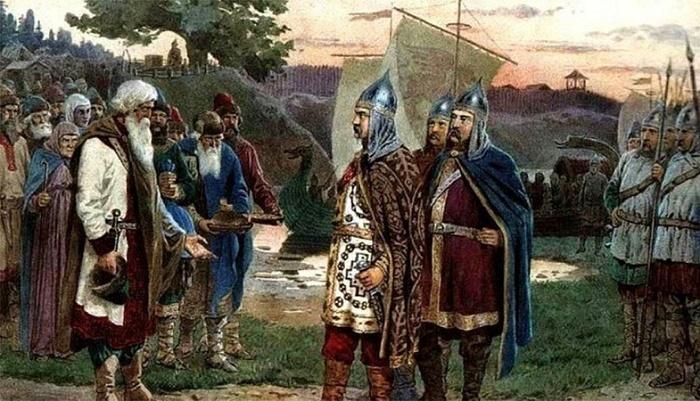 Славяне и викинги / Фото: twitter.com