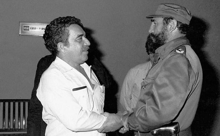Габриэль Гарсия Маркес и Фидель Кастро были хорошими друзьями / Источник: persons-info.com