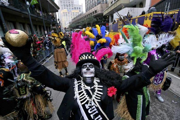 Жирный вторник - Марди Гра, праздник Нового Орлеана / Фото: reuters.com