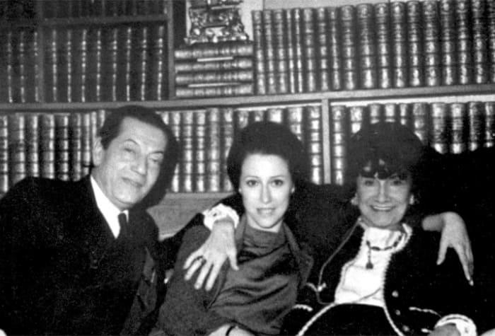 Серж Лифарь, Майя Плисецкая и Коко Шанель. Париж, 1962 / Фото: vivareit.ru