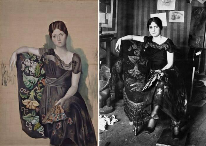 Пабло Пикассо «Ольга в кресле», 1918 год / Фото: birdinflight.com