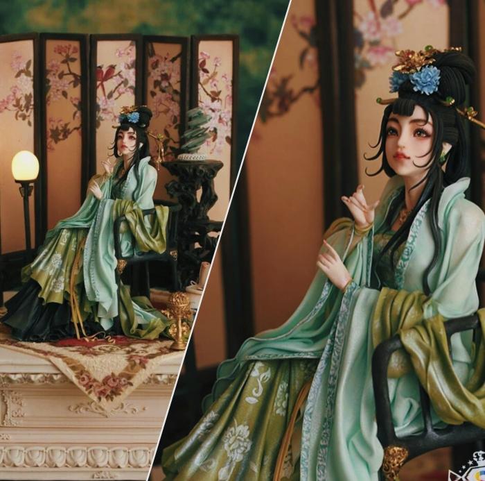 Торт-скульптура «Императрица Ву Цзэтянь»