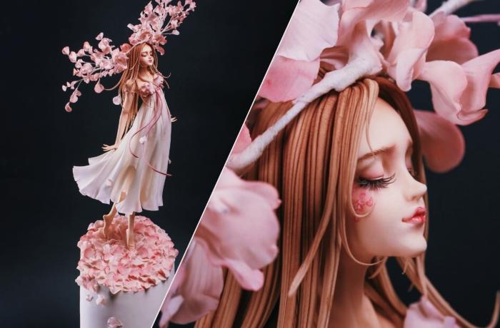 Торты невероятной красоты от Чжоу Йи