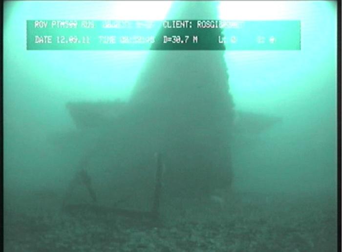 Затопленная в Карском море подлодка К-27 / Фото: researchgate.net