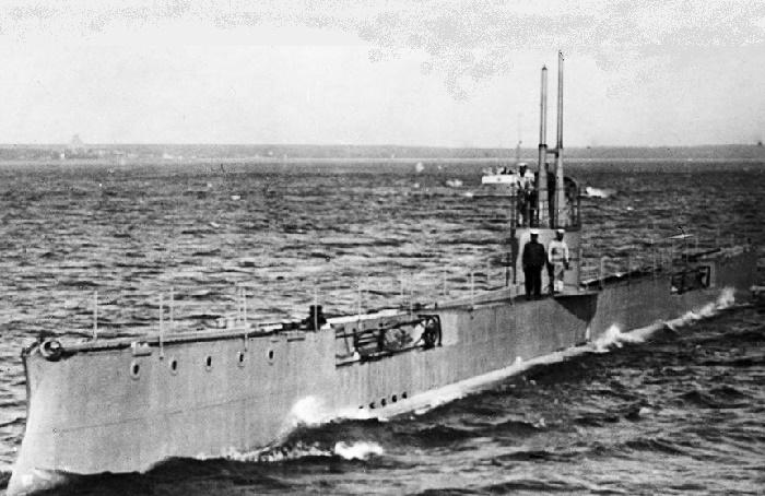 Подводная лодка времен I Мировой войны / Фото: groothoff.wordpress.com