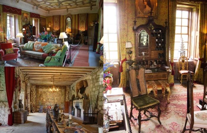 Внутреннее убранство комнат все еще поражает роскошью, хотя и стало чуть более современным
