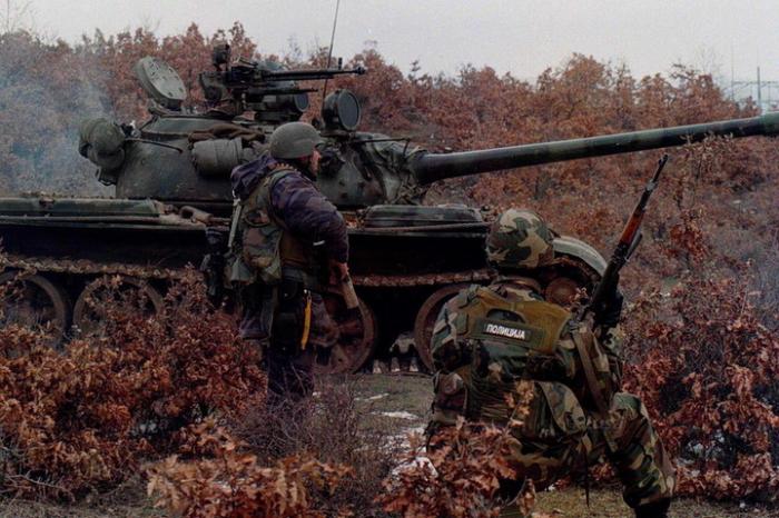 Военный конфликт в Косово. / Фото: xfile.ru