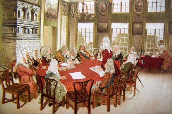 Дипломаты и сенаторы при Петре I / Фото: flickr.com