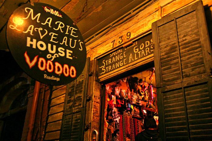 Дом вуду Мари Лаво, музей и магазин в Новом Орлеане / Фото: sworld.co.uk