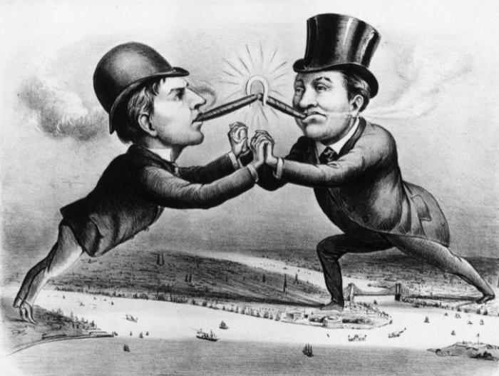 Противостояние двух изобретателей тщательно описывали СМИ / Фото: mc.today