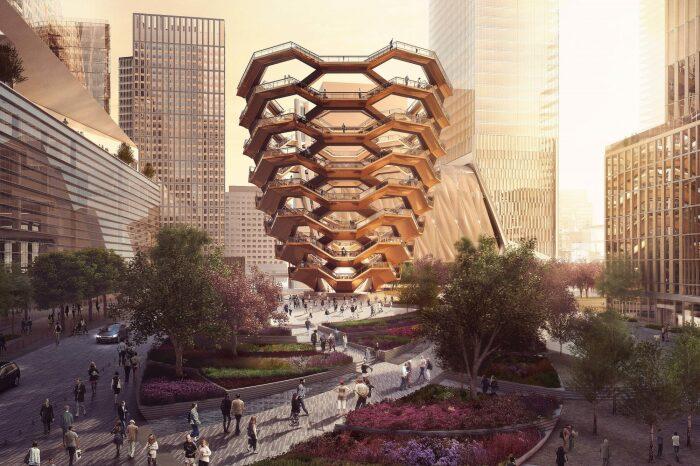 Шедевр современной архитектуры от Томаса Хезервика / Фото: afisha.nyc