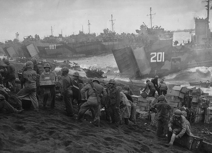 Высадка американцев на Японские острова, сентябрь 1945 года / Фото: britannica.com