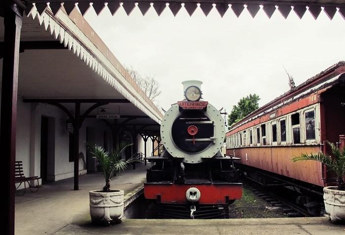 Паровоз из Эйтенхахе в железнодорожном музее Олбани / Источник: goingsomewhereslowly.com