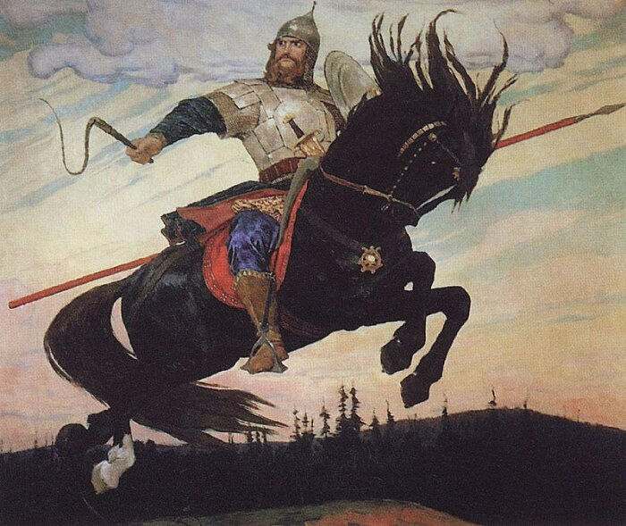 В.Васнецова «Богатырский скок», 1914 / Фото: ru.wikipedia.org