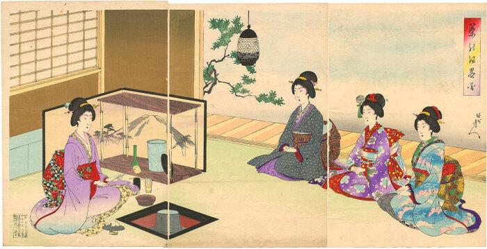 Чайная церемония в Древнем Китае / Фото: uk.m.wikipedia.org