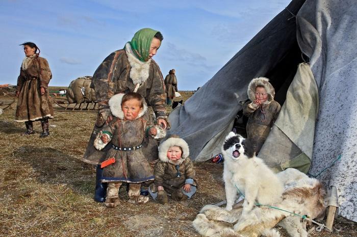 Коренные жители Ямала / Фото: 56thparallel.com