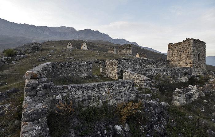 Остатки сторожевой башни XIV века / Фото: fotosearch.com