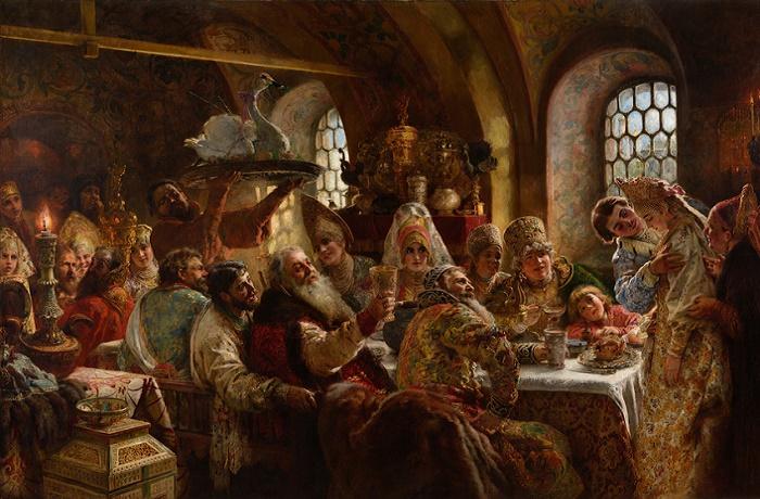 Напиток лампопо был популярен только среди зажиточных дворян /Фото: culture.ru.