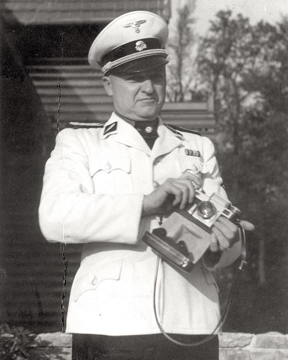 Комендант концлагеря «Бухенвальд» Карл Отто Кох. 1941 год. / Фото: diletant.media