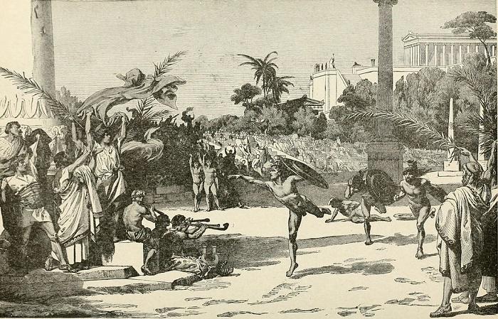 Спортивные состязания юношей в Древней Греции / Фото: britannica.com