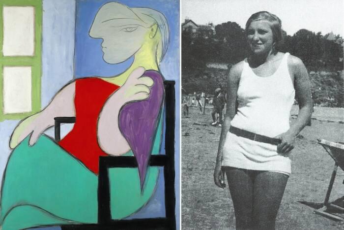 Любовница Пикассо — Мари-Терез Вальтер, 1928 год / Фото: birdinflight.com
