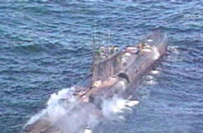 Пожар на атомной подлодке К-278 «Комсомолец» / Фото: freetime.co.uk