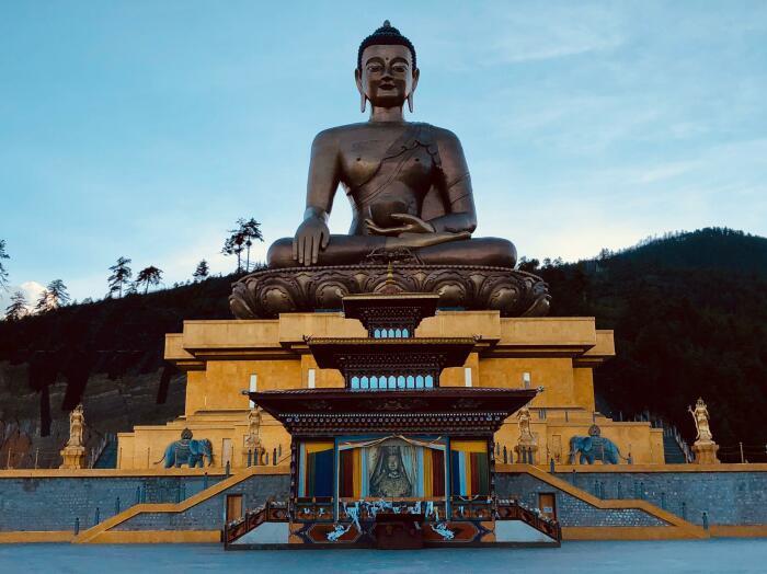 Официальной религией в королевстве является буддизм / Фото: reddit.com