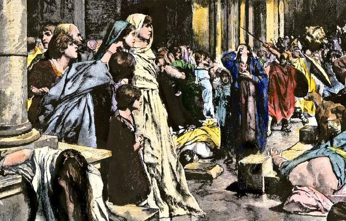 В кровавых стычках римских «партий ипподрома» страдали обычные люди / Фото: thecollector.com
