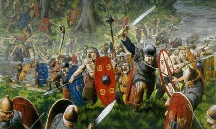 Римские воины не щадили друидов и их святые места. / Фото:nethistory.mirtesen.ru