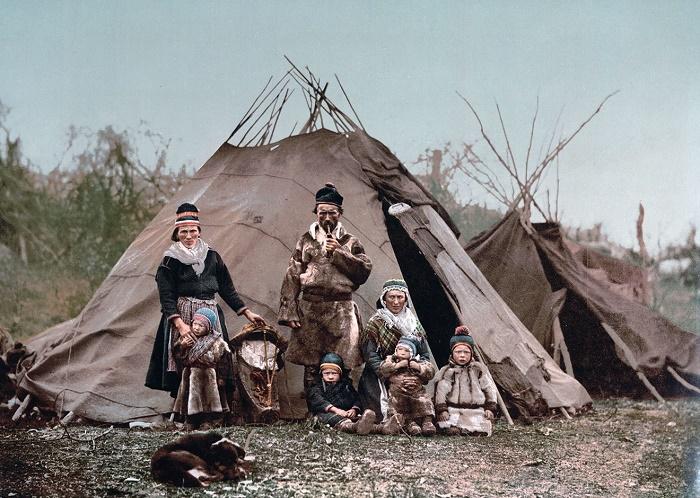 Саамы Лапландии. Начало XX века / Фото: uarctic.org