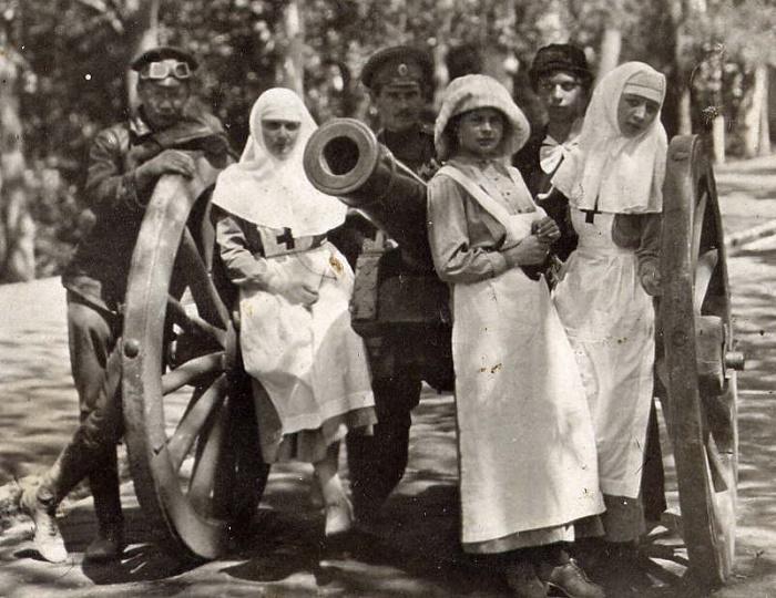 Сестры милосердия в I Мировую войну / Фото: bbc.com