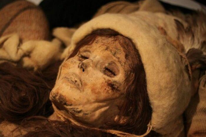 Лолуанская красавица в пустыне Такла-Макан. / Фото: keywordsking.com