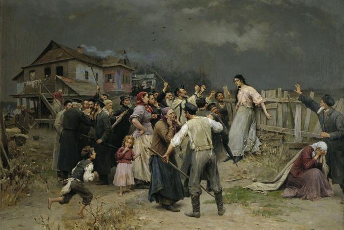 Часто сами люди проводили суд над ведьмами / Фото: https://foto-history.livejournal.com