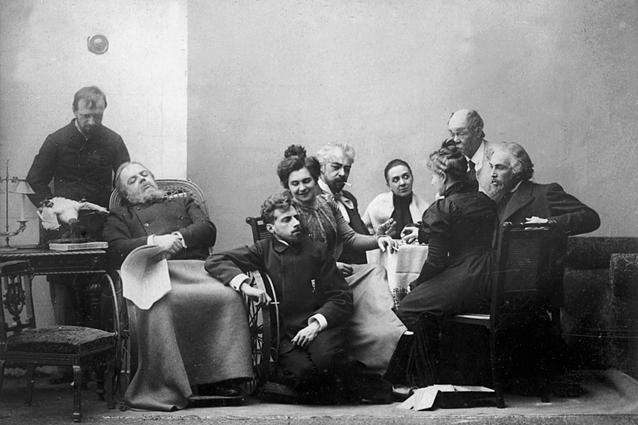 Сцена из спектакля «Чайка», 1898 / Фото: snob.ru