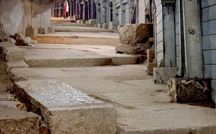 Древняя дорога к Иерусалимскому храму / Источник: icocnews.ru