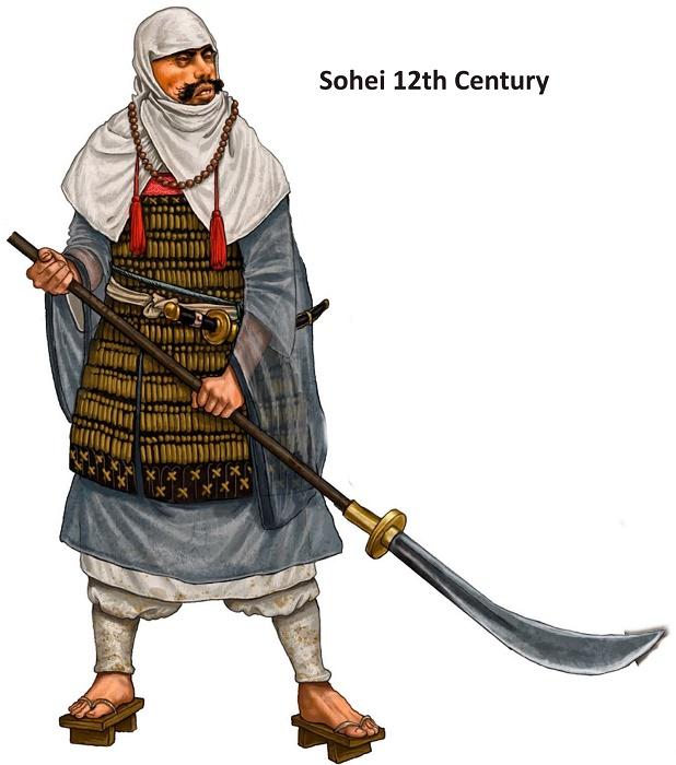 Монах-воин сохэй XII века / Фото: weaponsandwarfare.com